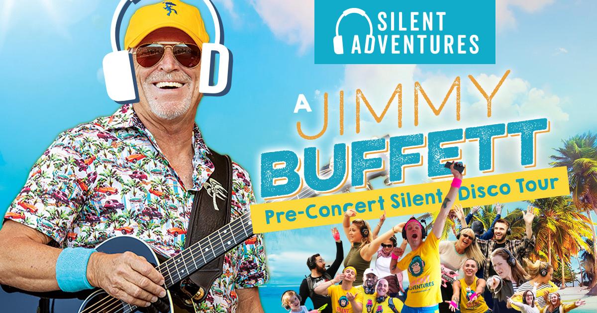 Jimmy Buffett Silent Disco Adventure Tour in Dublin