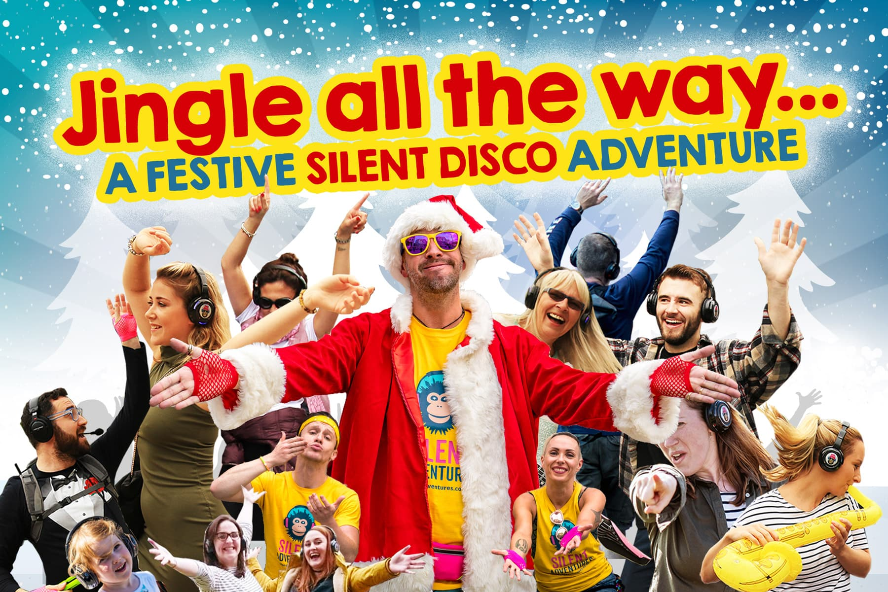 Christmas silent Disco Walking tours in Dublin