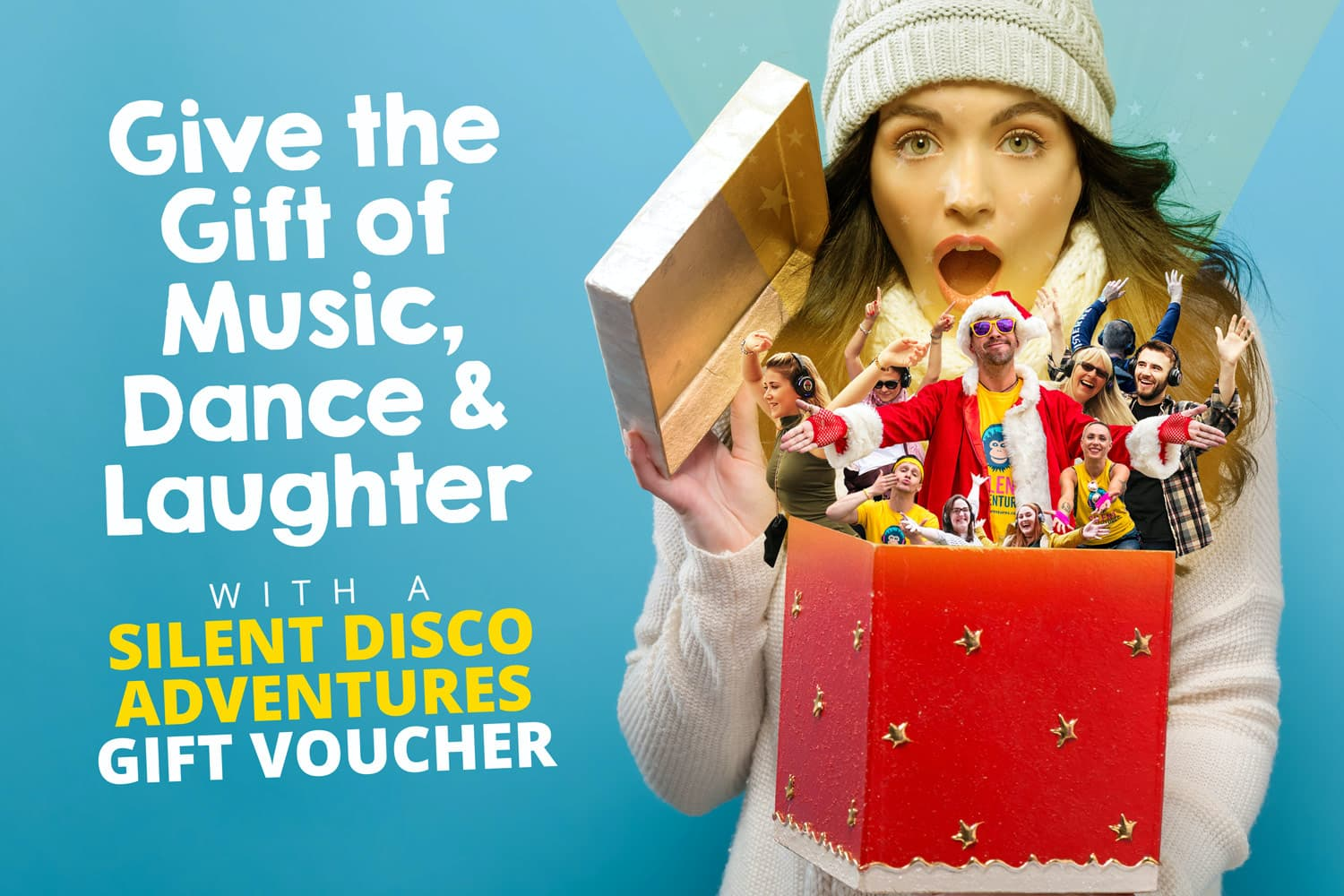 Dublin Silent Disco Walking Tours Gift Vouchers