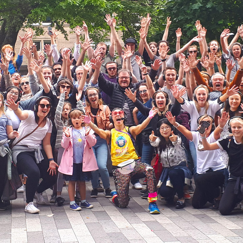 Dublin silent disco Walking Tours
